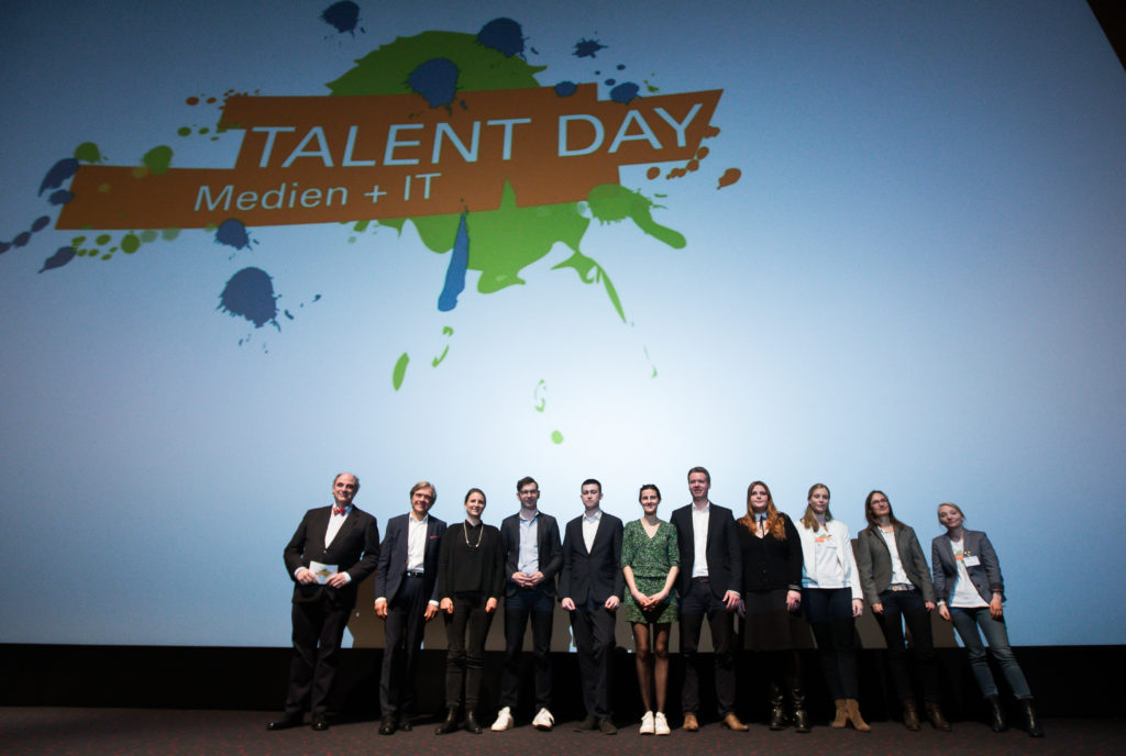 TALENT DAY Medien + IT  am 08.11. 2017 in Hamburg. Foto: Ulrich Perrey